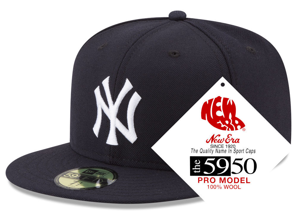 New York Yankees New Era MLB Retro Classic 59FIFTY Cap  cfcebd47ebb