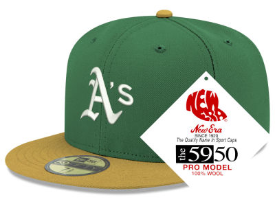 Oakland Athletics New Era MLB Retro Classic 59FIFTY Cap