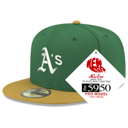 Oakland Athletics New Era MLB Retro Classic 59FIFTY Cap