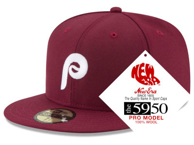 Philadelphia Phillies New Era MLB Retro Classic 59FIFTY Cap e7c806e4c656