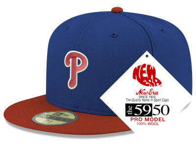 Philadelphia Phillies New Era MLB Retro Classic 59FIFTY Cap