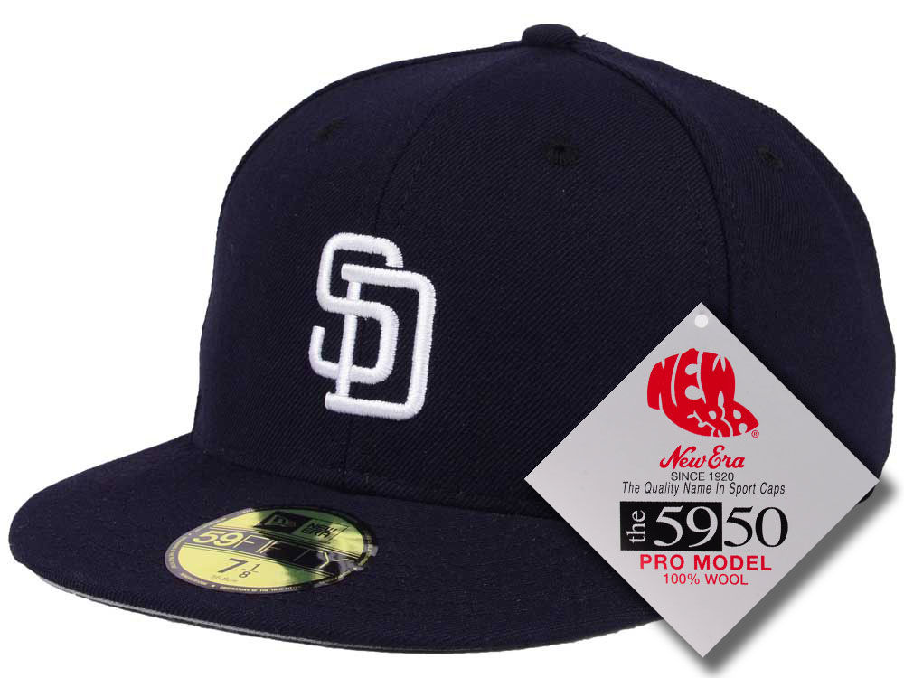 San Diego Padres New Era MLB Retro Classic 59FIFTY Cap  70befab52c6