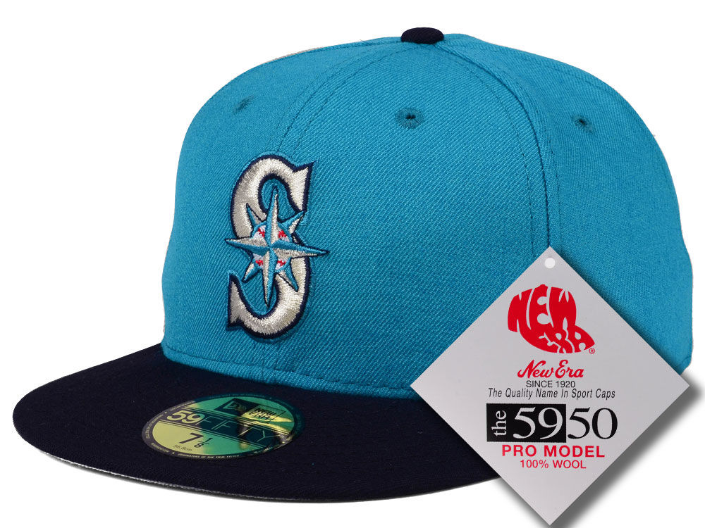 newest 6e4ab becc6 ... spain seattle mariners new era mlb retro classic 59fifty cap a9a17 f1a7b