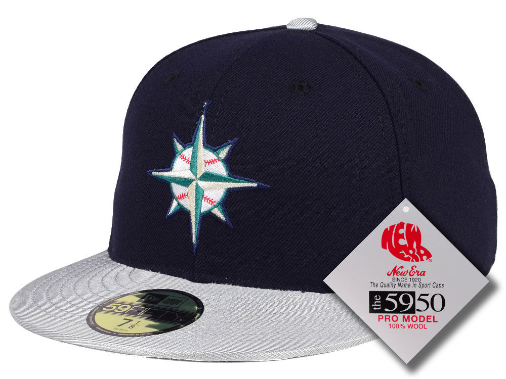 Seattle Mariners New Era MLB Retro Classic 59FIFTY Cap  9b40726748f