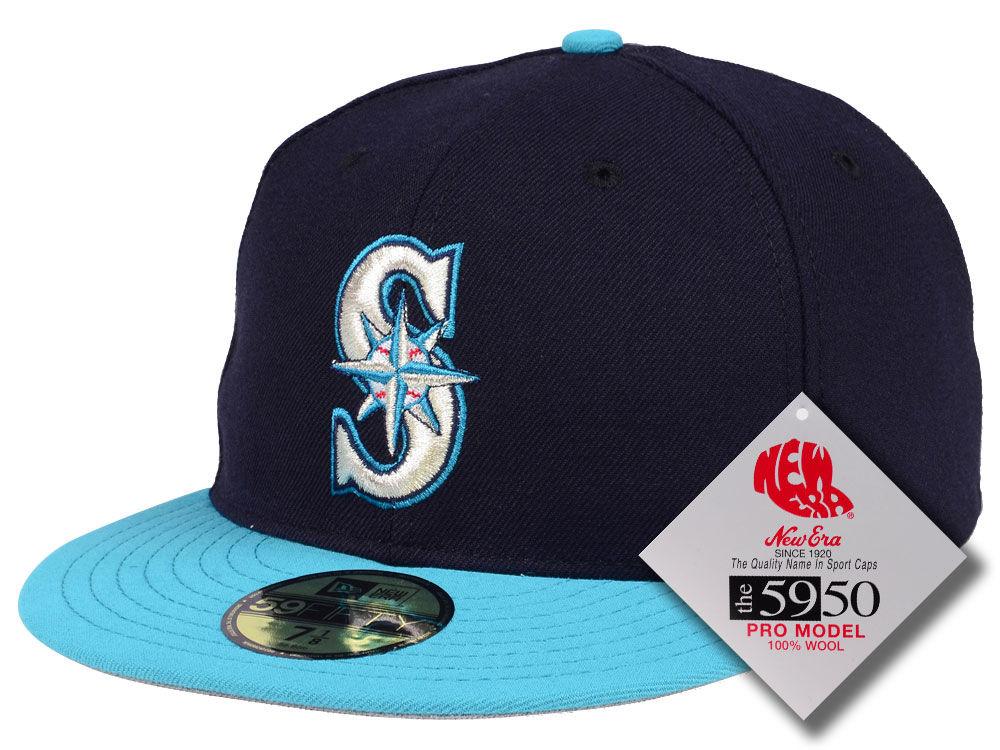 Seattle Mariners New Era MLB Retro Classic 59FIFTY Cap  63cd52432268