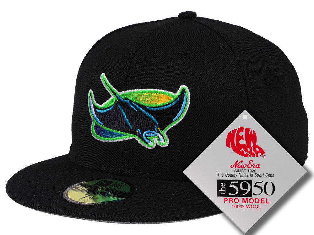2db18b3a36d Tampa Bay Rays New Era MLB Retro Classic 59FIFTY Cap