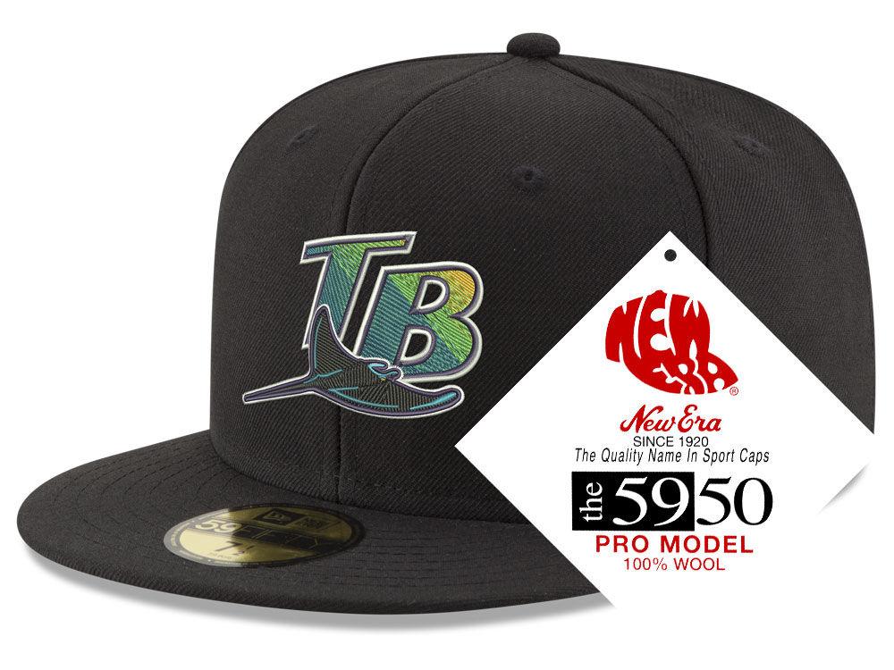 2db18b3a36d Tampa Bay Rays New Era MLB Retro Classic 59FIFTY Cap