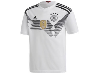 Germany adidas 2018 Youth National Team Home Stadium Jersey