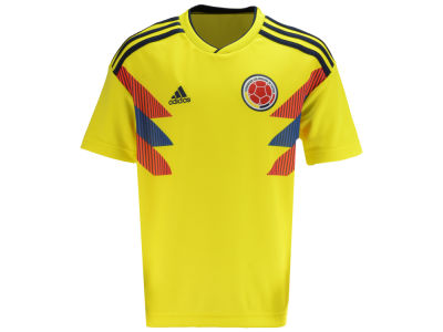 Colombia adidas 2018 Youth National Team Home Stadium Jersey de8b396d4