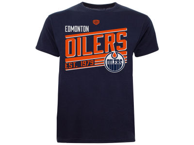 Edmonton Oilers Old Time Hockey NHL Youth Shift T-Shirt