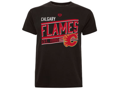 Calgary Flames Old Time Hockey NHL Youth Shift T-Shirt