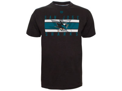 San Jose Sharks Old Time Hockey NHL Men's Rebound T-Shirt