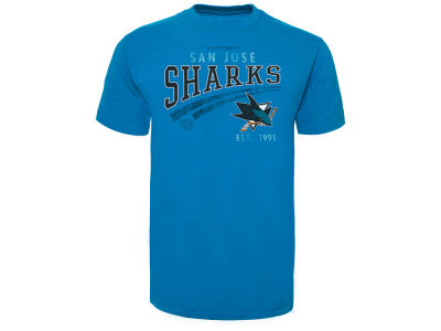 San Jose Sharks Old Time Hockey NHL Men's One Timer T-Shirt