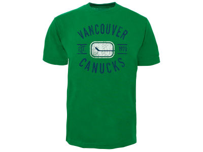 Vancouver Canucks Old Time Hockey NHL Men's Cycle Vintage T-Shirt