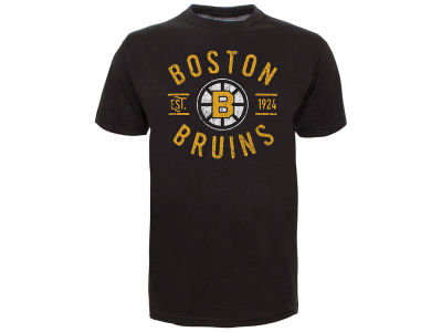 Boston Bruins Old Time Hockey NHL Men's Cycle Vintage T-Shirt