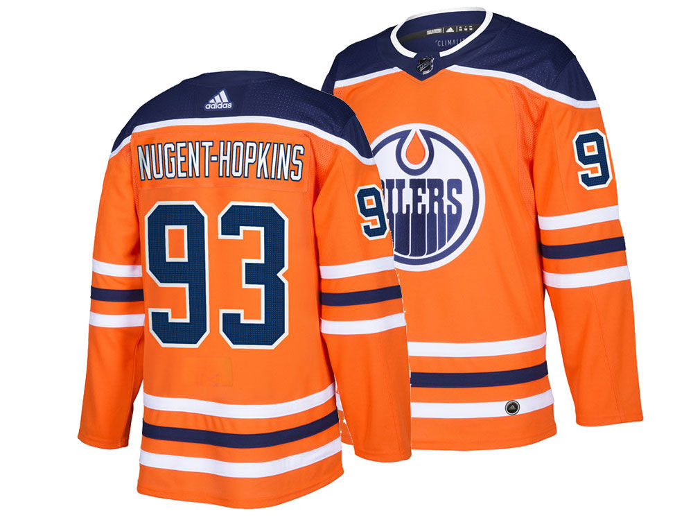 Edmonton Oilers Ryan Nugent-Hopkins adidas NHL Men s adizero Authentic Pro  Player Jersey  d8229e1b8