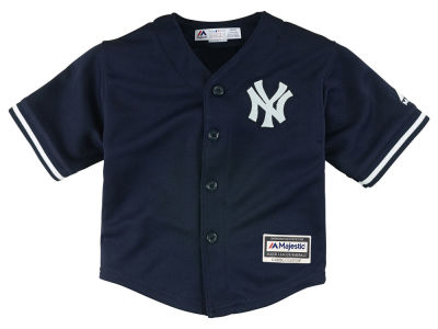 New York Yankees Majestic MLB Toddler Blank Replica Cool Base Jersey