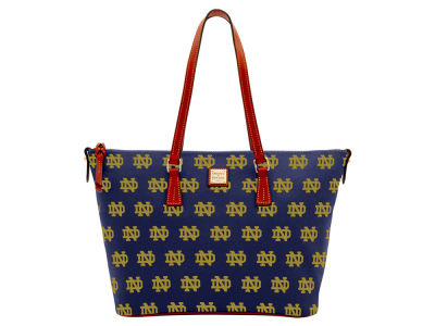 Notre Dame Fighting Irish Dooney & Bourke Zip Top Shopper
