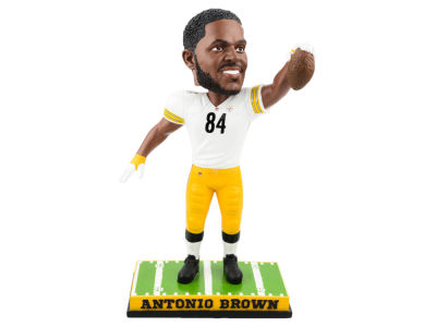 Pittsburgh Steelers Antonio Brown Forever Collectibles SMU Bobblehead