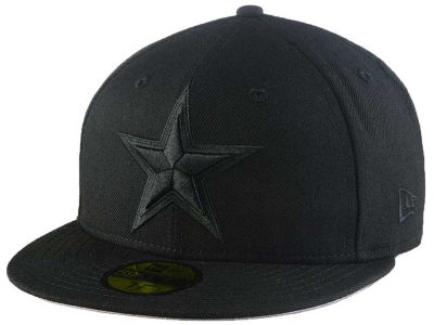 Dallas Cowboys New Era NFL Black On Black 59FIFTY Cap