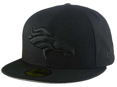 Denver Broncos New Era NFL Black On Black 59FIFTY Cap