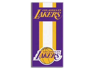 "Los Angeles Lakers College 30x60 inch Beach Towel ""Zone Read"""
