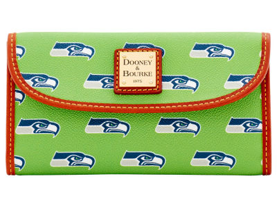 Seattle Seahawks Dooney & Bourke Continental Clutch