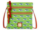 Seattle Seahawks Dooney & Bourke Dooney & Bourke Triple Zip Crossbody Bag Luggage, Backpacks & Bags