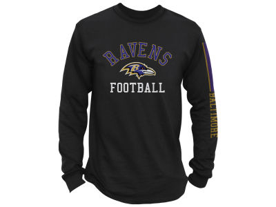 Baltimore Ravens NFL Men's Spread Formation Long Sleeve T-Shirt