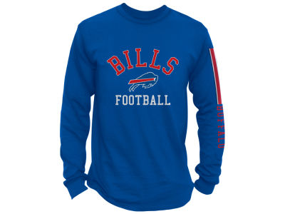 Buffalo Bills Junk Food NFL Men's Spread Formation Long Sleeve T-Shirt