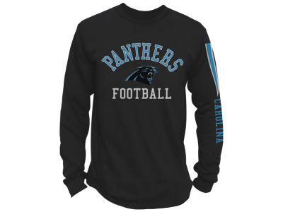 Carolina Panthers NFL Men's Spread Formation Long Sleeve T-Shirt