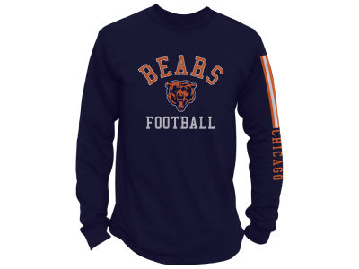 Chicago Bears NFL Men's Spread Formation Long Sleeve T-Shirt