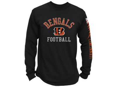 Cincinnati Bengals Junk Food NFL Men's Spread Formation Long Sleeve T-Shirt