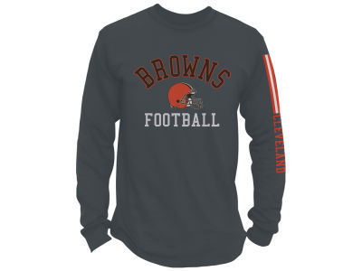 Cleveland Browns Junk Food NFL Men's Spread Formation Long Sleeve T-Shirt