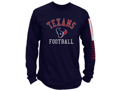 Houston Texans NFL Men's Spread Formation Long Sleeve T-Shirt