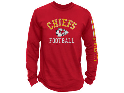 Kansas City Chiefs Junk Food NFL Men s Spread Formation Long Sleeve T-Shirt 9501736f3