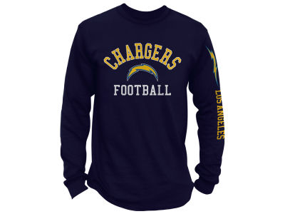 Los Angeles Chargers NFL Men's Spread Formation Long Sleeve T-Shirt