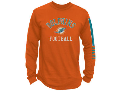 Miami Dolphins NFL Men's Spread Formation Long Sleeve T-Shirt
