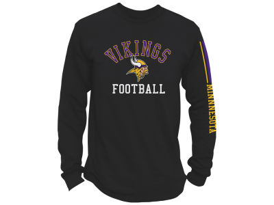 Minnesota Vikings Junk Food NFL Men's Spread Formation Long Sleeve T-Shirt