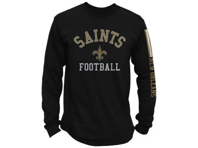 New Orleans Saints NFL Men's Spread Formation Long Sleeve T-Shirt
