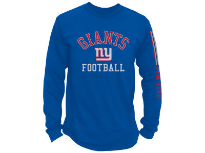 New York Giants NFL Men's Spread Formation Long Sleeve T-Shirt