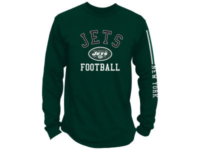 New York Jets NFL Men's Spread Formation Long Sleeve T-Shirt