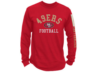 San Francisco 49ers NFL Men's Spread Formation Long Sleeve T-Shirt