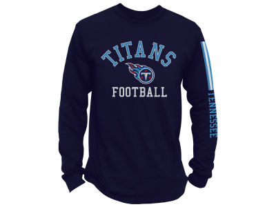 Tennessee Titans NFL Men's Spread Formation Long Sleeve T-Shirt