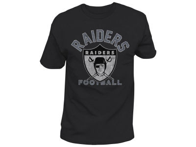 Oakland Raiders Junk Food NFL Men's Midfield Retro T-Shirt