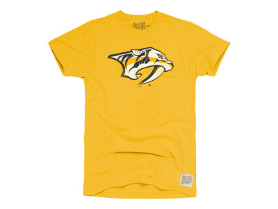 Nashville Predators Retro Brand NHL Men's Primary Logo T-Shirt