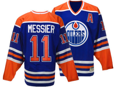 Edmonton Oilers Mark Messier CCM NHL Men's Authentic Classic Player Jersey