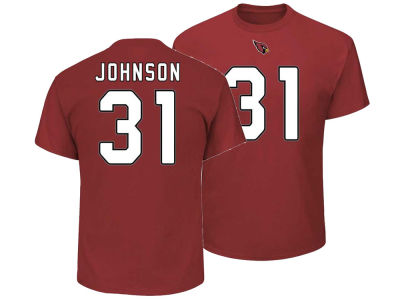 Arizona Cardinals David Johnson Majestic NFL Men's Eligible Receiver III T-Shirt