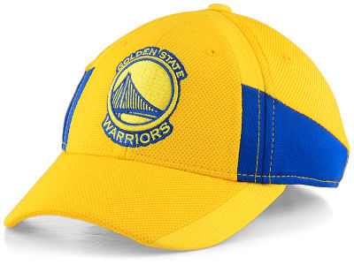 Golden State Warriors Outerstuff NBA Youth On Court Structured Adjustable Cap