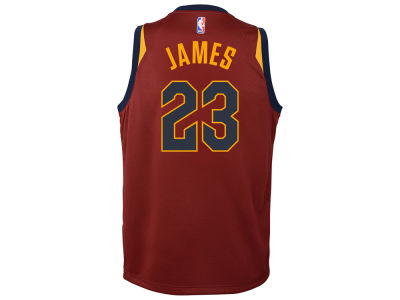 Cleveland Cavaliers LeBron James Nike NBA Youth Icon Swingman Jersey
